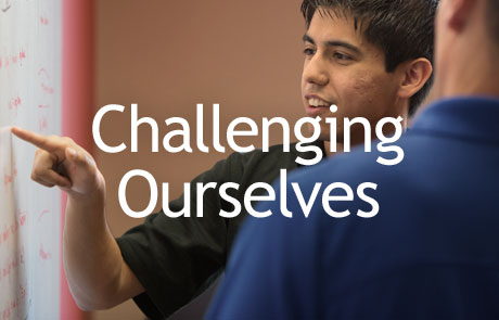 Challenging Ourselves Responsive