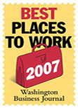 Washington Business Journal Best Places to Work 2007